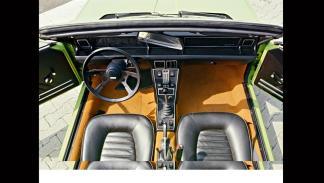 Fiat X1/9 - interior