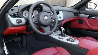BMW Z4 sDrive35is interior