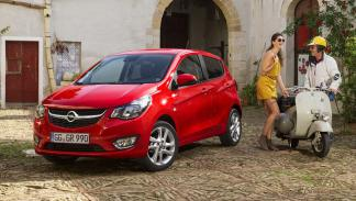 Opel Karl delantera