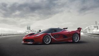 Ferrari FXX K delantera