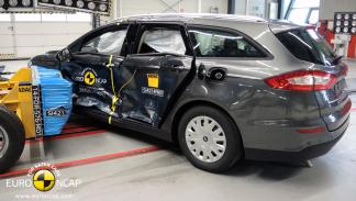 Ford Mondeo 'crash test' Euro NCAP