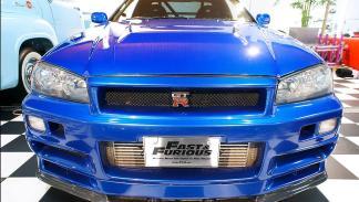 Nissan GT-R Skyline morro