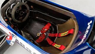 Toleman Senna interior