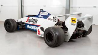 Toleman Senna trasera