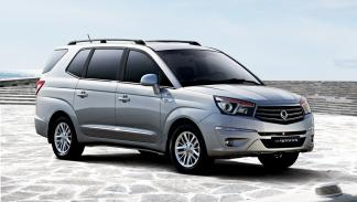 mejores vehículos viajar invierno SsangYong Rodius