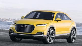 Audi TT Offroad tres cuartos
