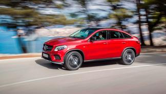 Mercedes GLE 450 AMG Coupe lateral