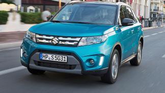 Prueba Suzuki Vitara 2015 morro