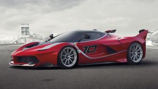 datos curiosos Ferrari FXX K lateral