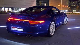 Mejores deportivos invierno Porsche 911 zaga