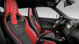 Nissan Juke Nismo RS asientos