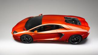 Lamborghini Aventador techo