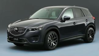 Mazda CX-5 tres cuartos delanteros