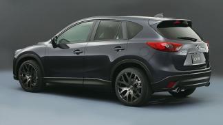 Mazda CX-5 tres cuartos traseros