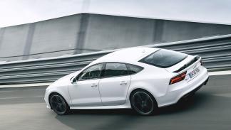 Audi RS7 Sportback en circuito zaga