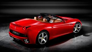 Ferrari California trasera