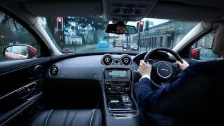 Jaguar Land Rover Follow-Me Ghost Car Navigation 2