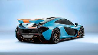 McLaren P1 Miles Nadal - trasera