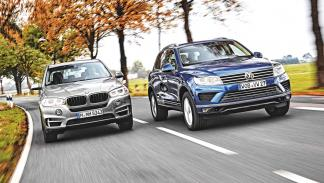 Fotos Comparativa BMW X5 VW Touareg