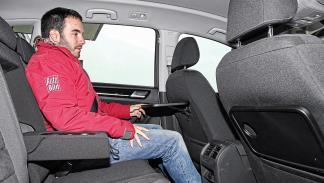 volkswagen golf sportsvan 2.0 TDI plazas traseras