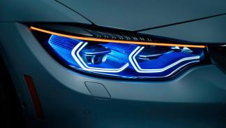 BMW M4 Iconic Lights Concept faros
