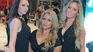 Las chicas del CES Las Vegas 2015
