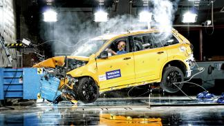 Crash Volvo XC90