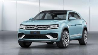 volkswagen cross coupé GTE estática frontal