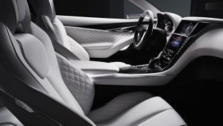 Infiniti Q60 Concept interior