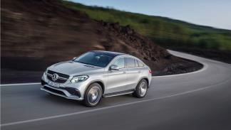 Mercedes GLE 63 AMG Coupé frontal