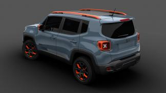 Mopar Detroit 2015 Jeep Renegade off-road Mopar zaga