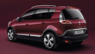 cinco coches estética SUV Renault Scenic Xmod zaga