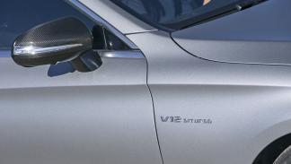 Mercedes S 65 Coupé AMG detalle espejo