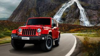 Jeep Wrangler X - frontal