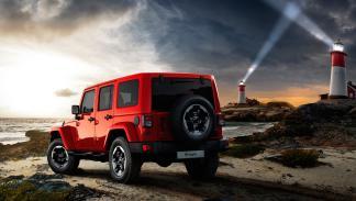 Jeep Wrangler X - trasera