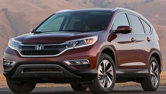 Honda CR-V detalle frontal