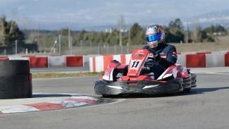 Max Verstappen karting