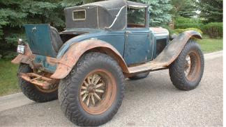 Ford Model A 'Bigfoot' en parado