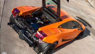 Lamborghini Gallardo de Dallas Performance cenital