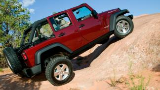 Jeep Wrangler lateral
