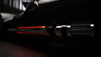 El Corvette de Darth Vader detalle trasera