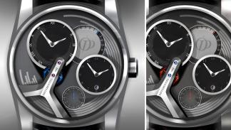 Reloj concept de Pecqueur Conceptuals porPeugeot Design Lab boceto