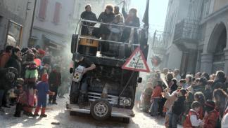 Una carroza con mucha marcha para este carnaval