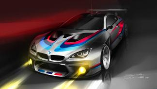 BMW M6 GT3 frontal