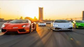 Cursos de conducción Lamborghini 2