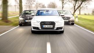 Comparativa berlinas premium: A6, Serie 5, Clase E