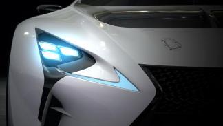 Lexus LF-LC Vision Gran Turismo delantera