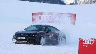 Vivimos la Audi Driving Experience Baqueira 2015 Audi TT TFSI 2.0