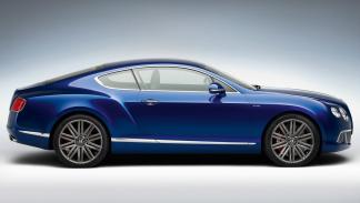 Bentley Continental GT speed lateral