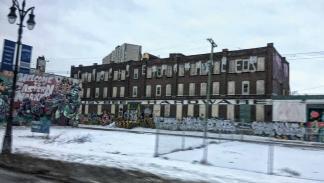 detroit edificio abandonado